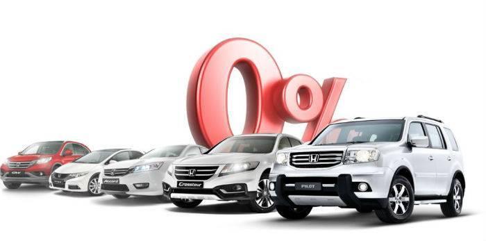 Автокредит под 0 процентов  - бывает ли?