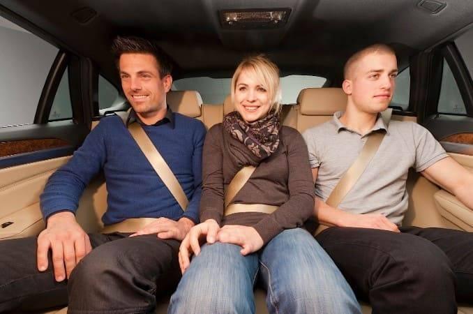Штраф за непристегнутого пассажира на переднем и заднем сидении в 2021 году
