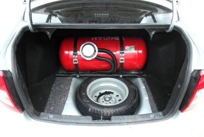 Штраф за газовое оборудование (ГБО) без документов на автомобиле в 2020 году