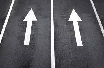 Что считается пересечением сплошной линии?