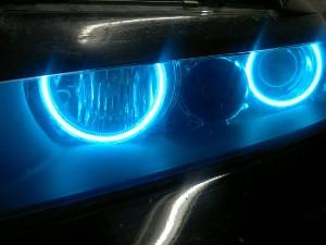 Можно ли ставить синие лампочки в габариты или фару в 2021 году?