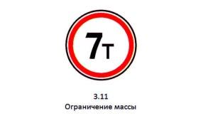 Штраф за проезд под знак
